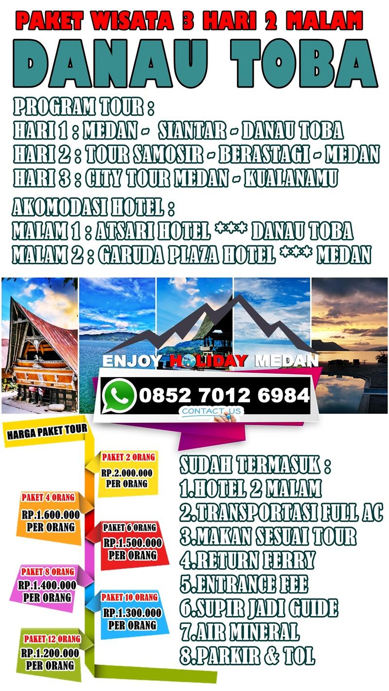 paket wisata medan brastagi