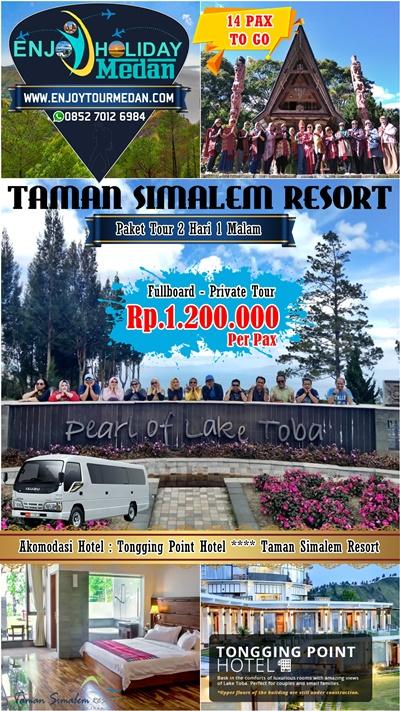 Paket Tur Taman Simalem Resort