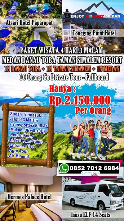 Paket Wisata Taman Simalem Resort 4 Hari 3 Malam