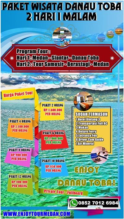 2D1N Pelesiran Danau Toba