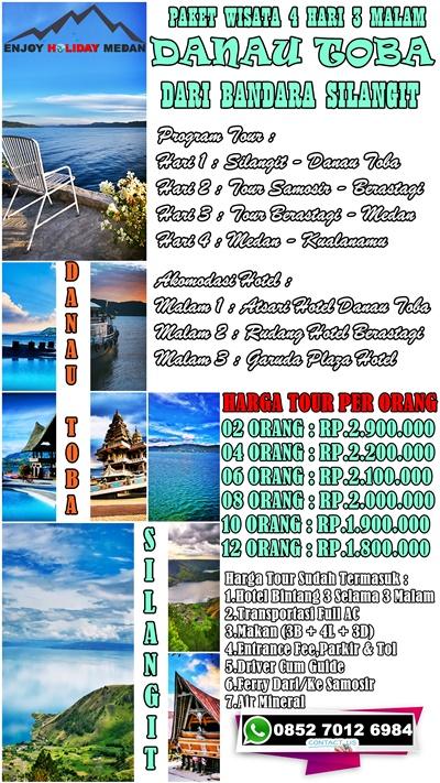 4D3N Silangit Lake Toba