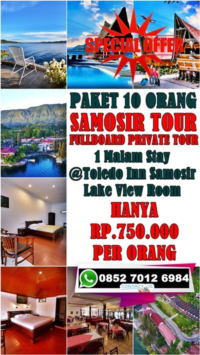 Holiday Danau Toba 2 Hari