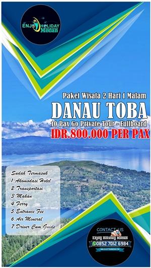 2D1N Danau Toba Murah