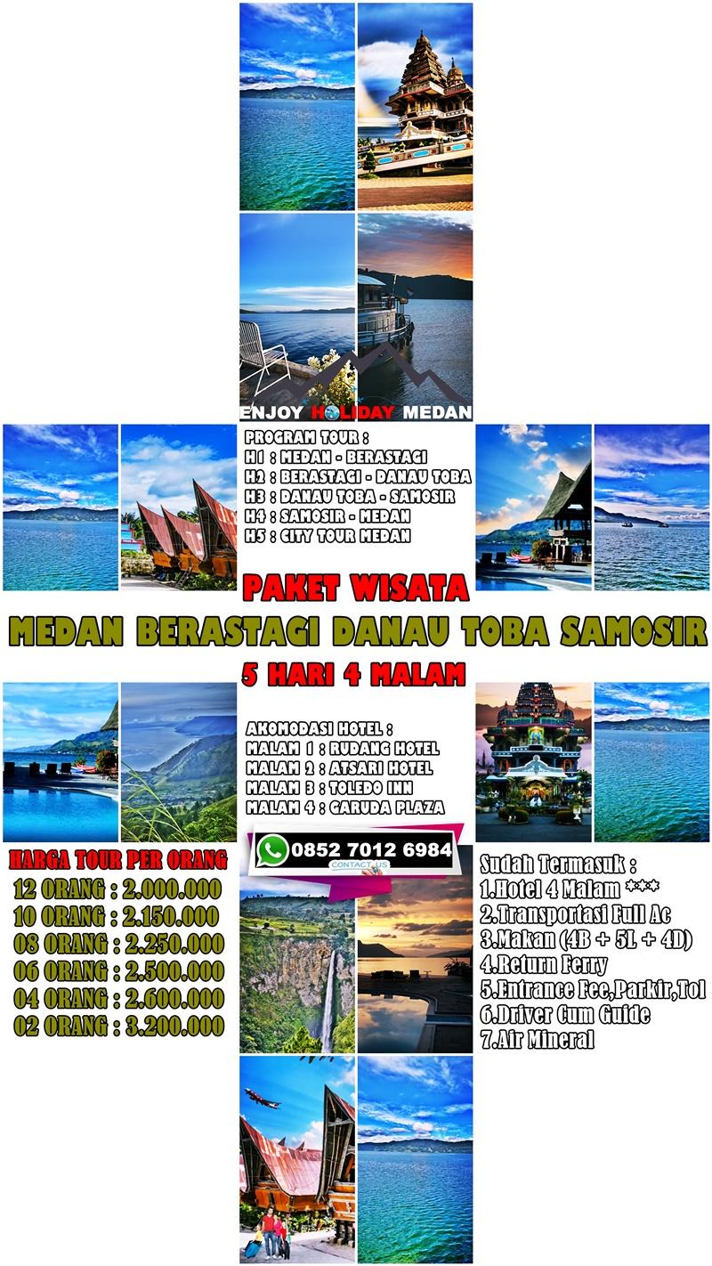 Paket Tour Medan 5 Hari 4 Malam